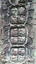Stela f copan honduras was erected by uaxaclajuun ub aah k awiil in the early th century ad Royalty Free Stock Photo