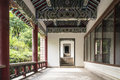 The stele passageway in sutra depository this photo was taken in linggu scenic area nanjing city jiangsu province china Stock Photo