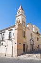 Stella Maris Church. Manfredonia. Puglia. Italy. Royalty Free Stock Photo