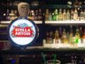 Stellar draft beer faucet Royalty Free Stock Photo