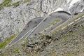 Stelvio pass, Bolzano - Italy Royalty Free Stock Images