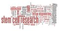 Stem cell research Royalty Free Stock Photo