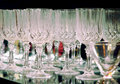 Stemware Royalty Free Stock Photo