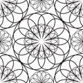 Stencil patterns Royalty Free Stock Photo