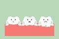 Step of gum disease