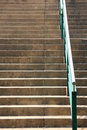 Step and handrail Royalty Free Stock Photos