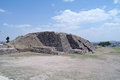 Step Pyramid in Teotihuacan Royalty Free Stock Photos