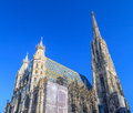 Stephansdom vienna the st stephens cathedral in austria Royalty Free Stock Photos