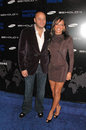 Stephen belafonte and melanie brown at the samsung behold ll premiere launch party blvd hollywood ca Royalty Free Stock Image