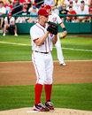 Stephen strasburg washington nationals superstar young pitcher Royalty Free Stock Photography
