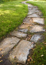 Stepping Stone Path Stock Photography