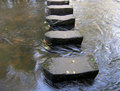 Stepping stones Stock Photography