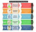 Steps of drug development with details