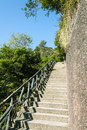 The steps of the mountain Royalty Free Stock Photo