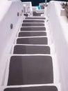 Steps in Santorini, Greece Royalty Free Stock Photo