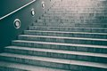 Steps on a staircase empty with concrete Royalty Free Stock Images