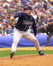 Sterling hitchcock san diego padres pitcher image taken from color slide Royalty Free Stock Photos
