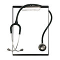 Stethoscope isolate on white background Stock Photos