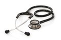 Stethoscope on white background photo of a with slight shadow visible Royalty Free Stock Image