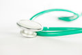 Stethoscope on white background Royalty Free Stock Photo