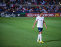 Steven caulker in englands national team under israel Royalty Free Stock Photos
