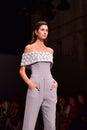 Steven Khalil fashion show Royalty Free Stock Photo