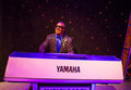 Stevie wonder wax statue of hollywood celebrity and singer madame tussauds museum las vegas Royalty Free Stock Images