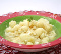 Stew of cauliflower a fresh Royalty Free Stock Image