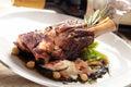 Stew lamb shank