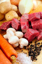 Stew Recipe Stock Photography