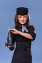 Stewardess Stock Images