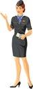 Stewardess Girl