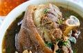 Stewed pork knuckle Royalty Free Stock Photo