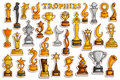 Sticker collection for Victory Gold Cups and Trophy