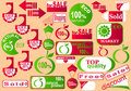 Stickers. Royalty Free Stock Images