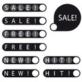 Stickers sale free new hit label