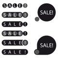 Stickers sale label