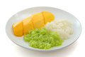 Sticky Rice with Mango Stock Images