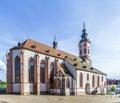 Stiftskirche church baden baden germany Stock Photography
