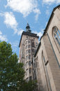 Stiftskirche (Collegiate Church) : Est Tower Royalty Free Stock Photos
