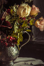 Still life with autumn flowers Royalty Free Stock Photo