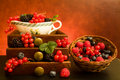 Still Life With Berries Royalty Free Stock Photo