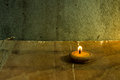 Still life candle in loi krathong festival thai Stock Photography