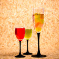 Still life cocktails Royalty Free Stock Photo