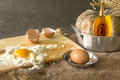 Still life with eggs Royalty Free Stock Image