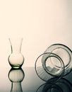 Still life glass. Stock Photo