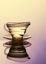 Still life glass. Royalty Free Stock Photo
