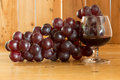 Still life Grapes and Red Wine Royalty Free Stock Images