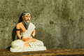 Still life with hermit Statue Royalty Free Stock Photo