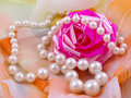 Still life with pearl Stock Image
